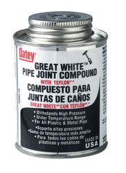 Oatey Great White Pipe Joint Compound 8 oz.