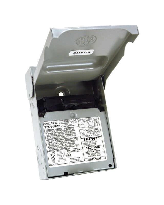 Electric Products 50 Amp 240volt 240watt Nonfuse Metallic Spa Panel