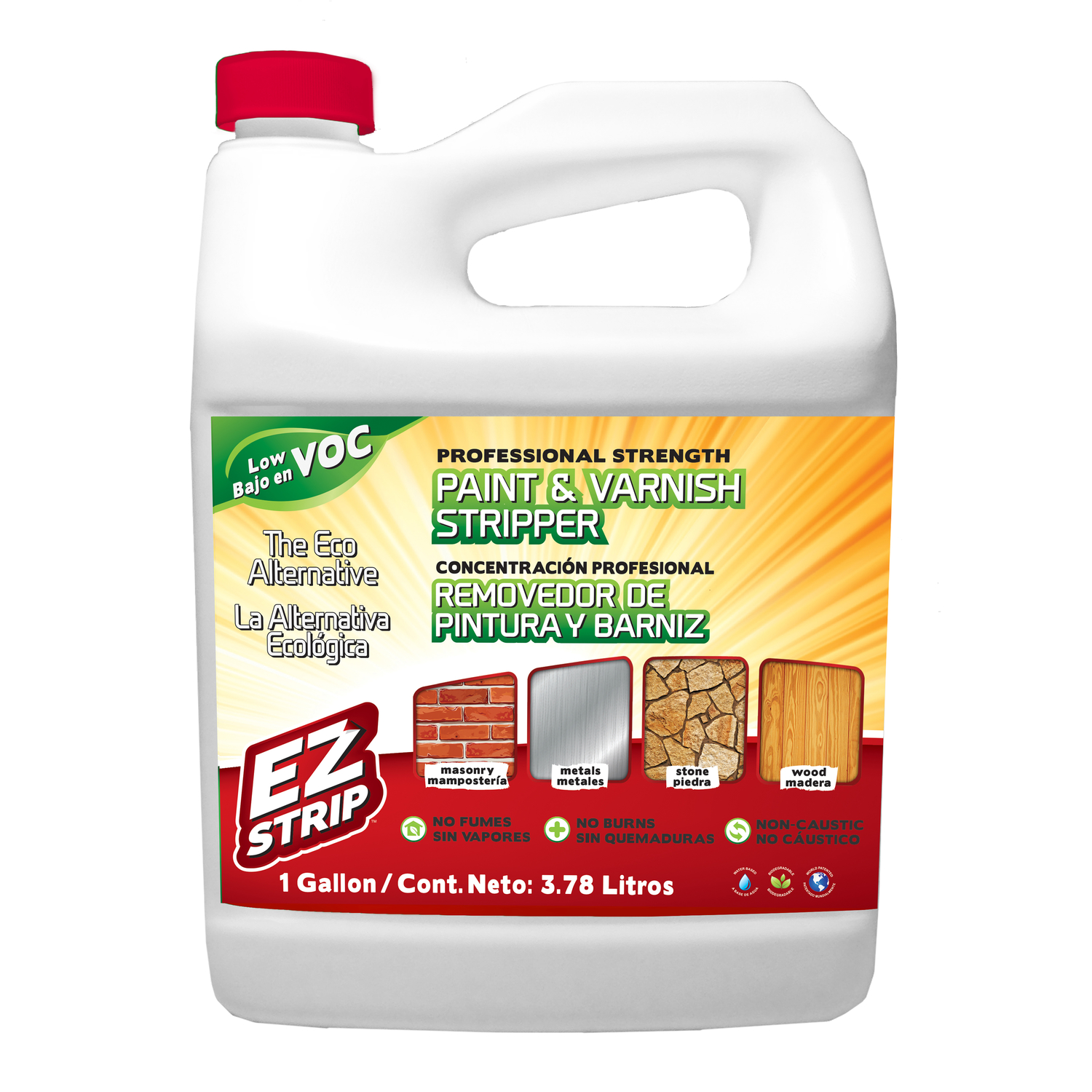 EZ Strip  Paint and Varnish Stripper  1 gal.