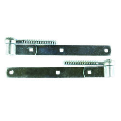 Ace  10 in. L Steel  Screw Hook And Strap Hinge  2 pk