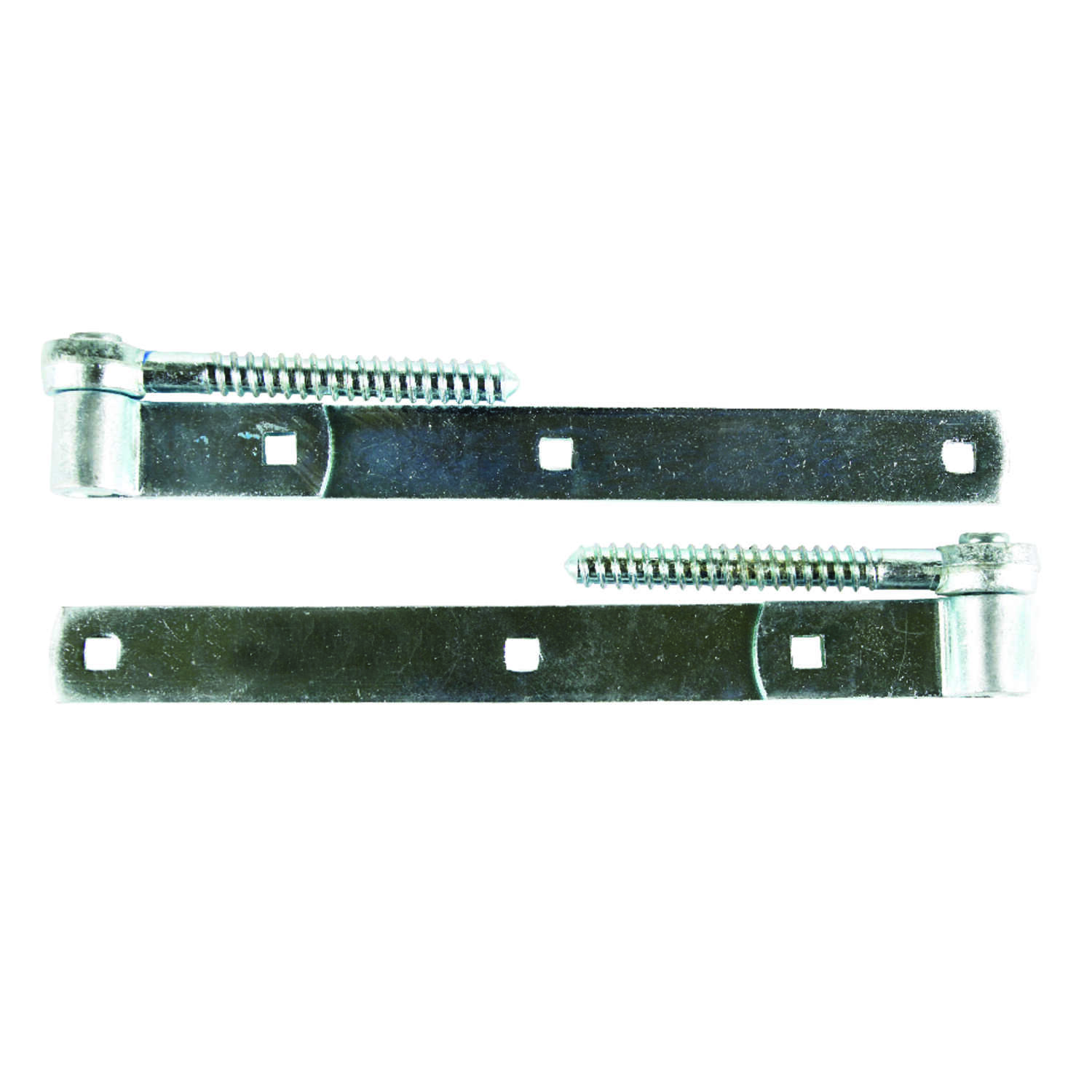 Ace  10  L Steel  Screw Hook And Strap Hinge  2 pk