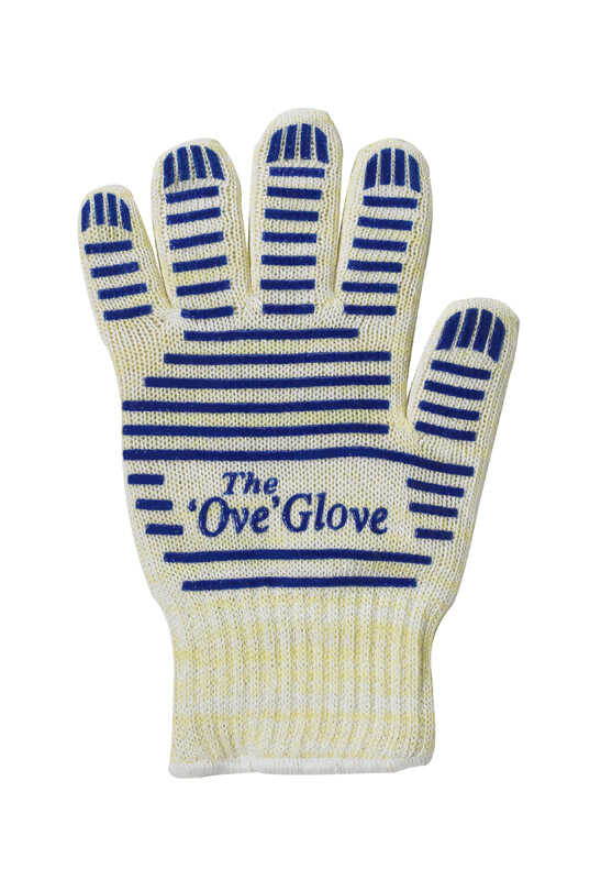Ove Glove  Multicolor  Cotton/Silicone  Oven Mitt  1 pk
