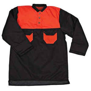 STIHL  Woodcutter  Nylon  Winter Shirt  Button  Black/Orange  XXL