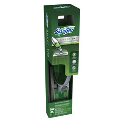 Swiffer  Sweep + Vac  Bagless  Cordless  Stick Vacuum and Floor Cleaner  4 amps Standard  Green