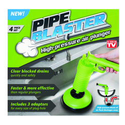 Pipe Blaster  As Seen On TV  High Powered Air Plunger  8.13 in. L x 5.13 in. Dia.