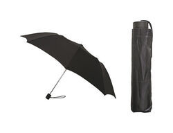 Rainbrella  Black  42 in. Dia. Compact Umbrella