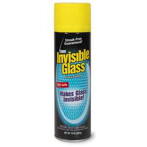 Stoner  Invisible Glass  Auto Glass Cleaner  Aerosol  19 oz.