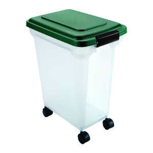 Remington  Plastic  28 qt. Pet Food Container  For Universal