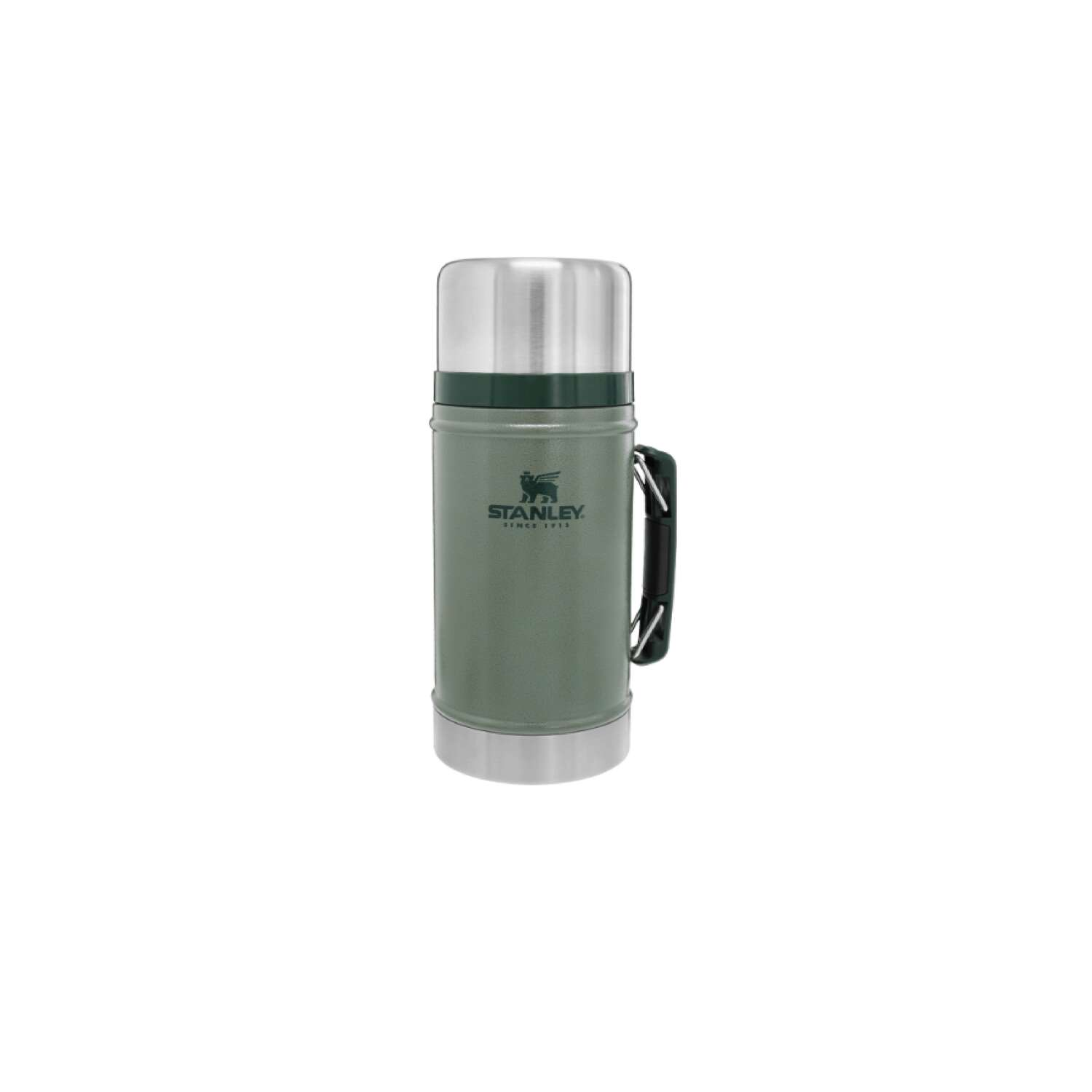 Stanley  1 oz. Classic  Insulated Bottle  Hammertone Green