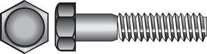 HILLMAN  1/4-20 in. Dia. x 1 in. L Stainless Steel  Hex Head Cap Screw  100 box