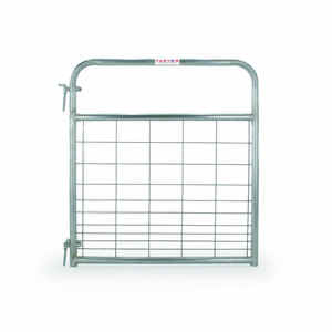 Tarter  50 in. H x 1.75 in. W 4 ft. Galvanized Steel  Wire Filled Gate