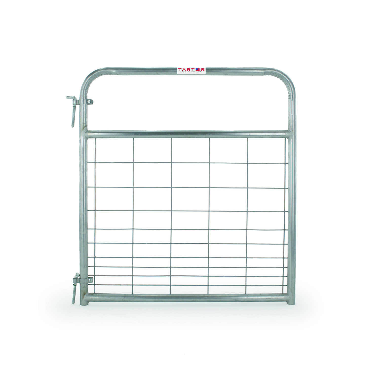 Tarter  50 in. H x 1.75 in. W x 4 ft. L Galvanized Steel  Wire Filled Gate