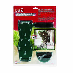 Bond Manufacturing  Green Giant Spiked Shoes  Lawn Aerator