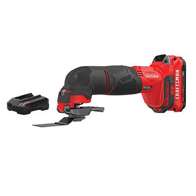 Craftsman  V20  20 volt Cordless  Oscillating Tool  Kit  18000 opm