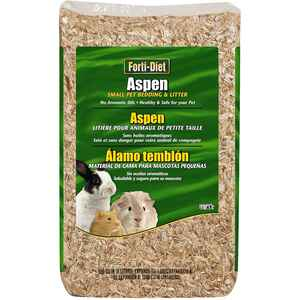 Kaytee  Forti-Diet  Natural Scent Aspen Bedding and Litter