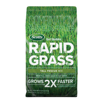 Scotts  Turf Builder Rapid  Tall Fescue  Full Sun/Light Shade  Grass Seed  5.6 lb.
