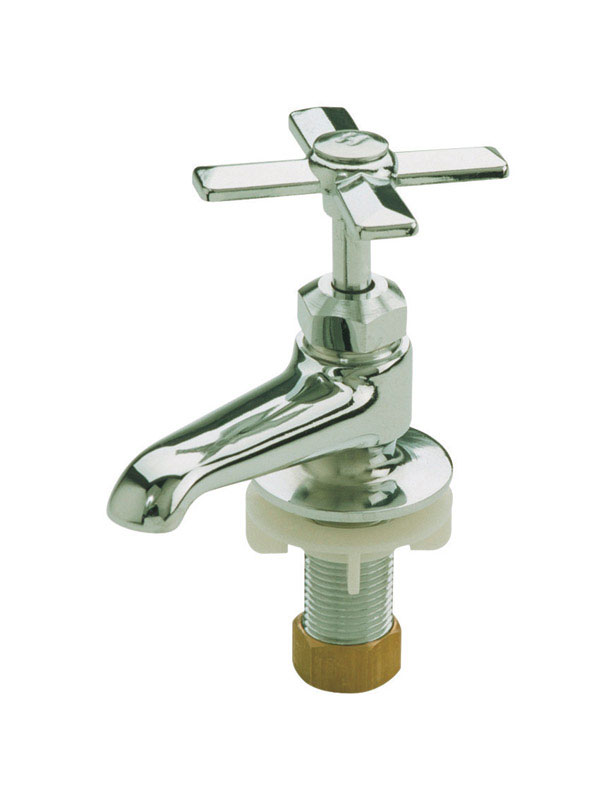 Mueller Hot and Cold Faucet 1/2 in. Chrome