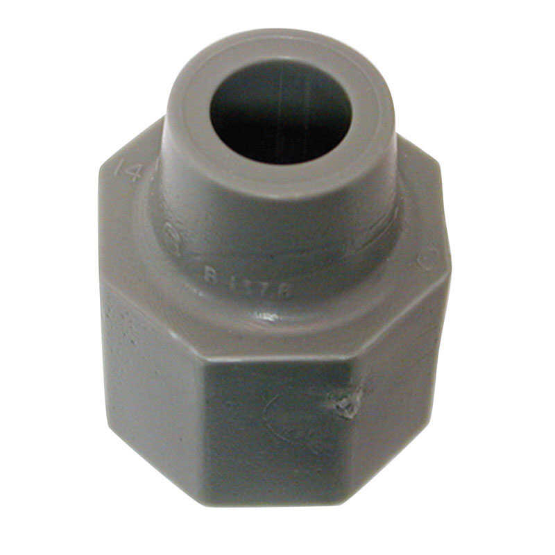 Danco  Plastic  Tailpiece Nut  3/8 in. Dia.