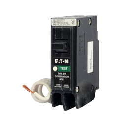 Eaton  20 amps AFCI  Single Pole  Arc Fault Breaker