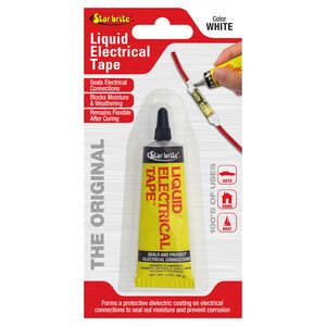 Star Brite  4 in. W x 7 in. L White  Liquid Electrical Tape