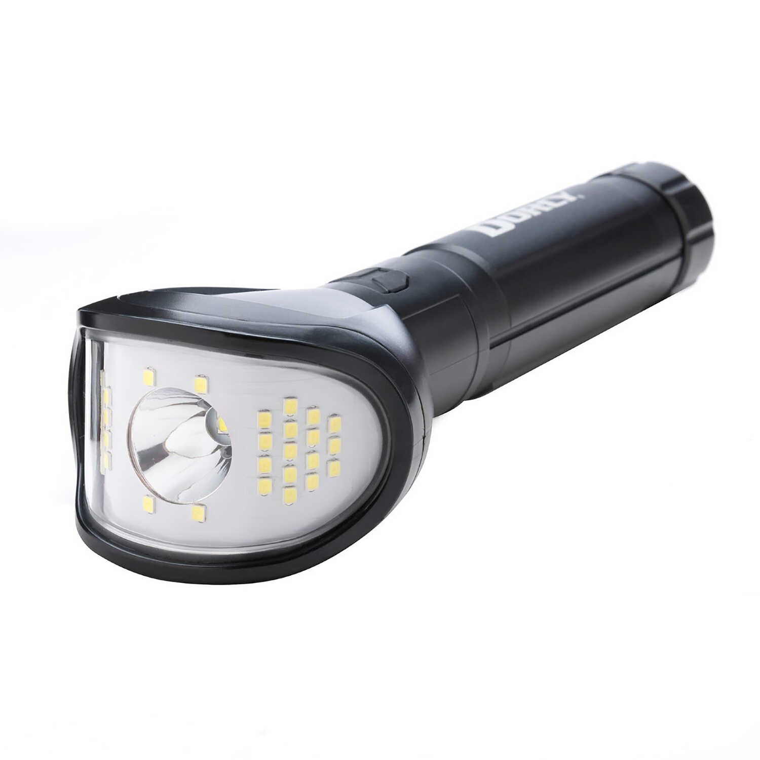 Dorcy  850 lumens Black  LED  Wide Beam Flashlight  AA