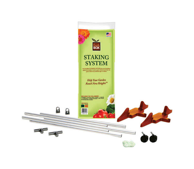 EarthBox  60 in. H x 22 in. W Plant Staking System  Plastic  Terracotta