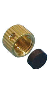 BK Products  Cast Iron  Drain Cap