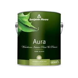Benjamin Moore Aura Semi-Gloss Base 1 Paint Interior 1 gal.