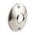 Prime-Line  Satin Nickel  Silver  Steel  Door Knob Rosettes  2 pk