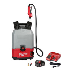 Milwaukee  M18 SWITCH TANK  4 gal. Backpack Concrete Sprayer Kit