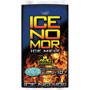 Ice No Mor  Calcium Chloride  Ice Melt  20 lb.