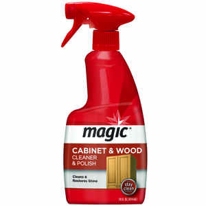 Magic  Almond Scent Cabinet and Wood Cleaner  14 oz. Spray