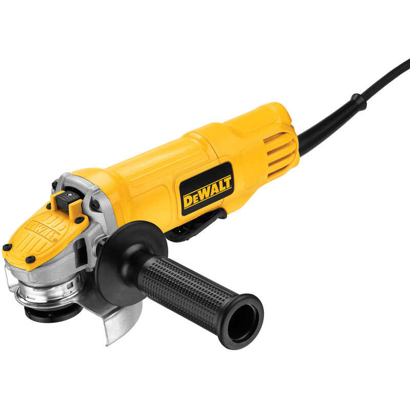 DeWalt  Corded  9 amps 4-1/2 in. Small Angle Grinder  Bare Tool  12000 rpm