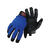 Boss  Men's  Indoor/Outdoor  Mechanic  Gloves  Black/Blue  XL  1 pair