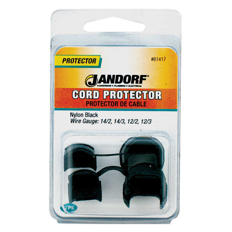 Jandorf  0.81 in. L Cord Protector  2 pk