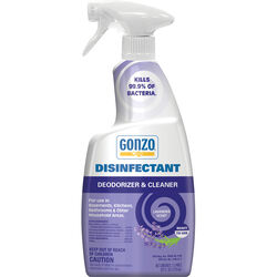 Gonzo  Lavender Scent Disinfectant Deodorizer and Cleaner  24 oz. 1 pk