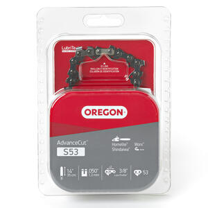 Oregon  Advance Cut  14 in. 53 links Chainsaw Chain