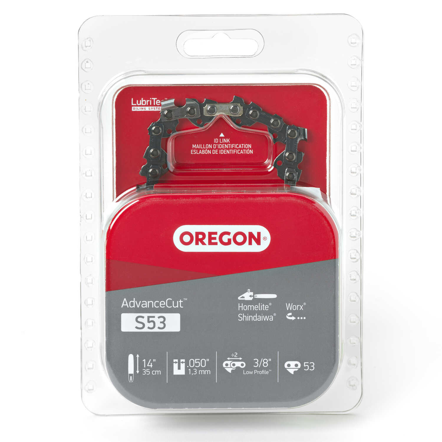 Oregon  14 in. L 53 links Chainsaw Chain