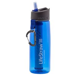 LifeStraw  Go  22 oz. Filtered Water Bottle  Blue