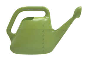 Bloem  Green  2 gal. Watering Can  Resin