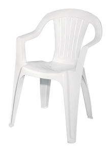 Cool Adams 1 White Polypropylene Stackable Chair White Ace Hardware Gmtry Best Dining Table And Chair Ideas Images Gmtryco