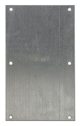 Sioux Chief  Galvanized  Steel  Shield Plate