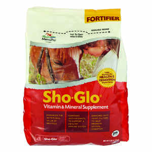 Sho-Glo  Livestock Mineral  For Horse