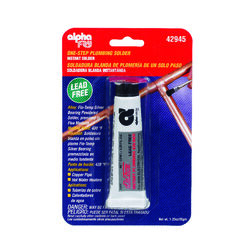 Alpha Fry 1.3 oz. Lead-Free Plumbing Solder Silver-Bearing Alloy 1 pc.
