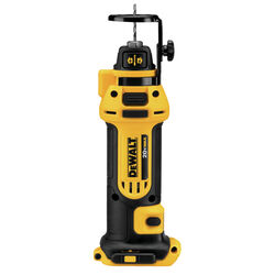 DeWalt  20V MAX  1/4 and 1/8 in. Cordless  Drywall Cut-Out Tool  Bare Tool  20 volt 26000 rpm