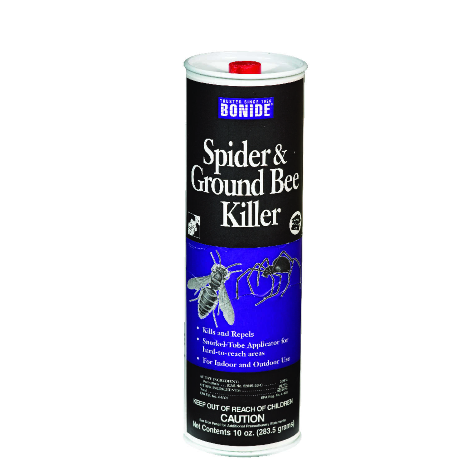 Bonide  Spider & Ground Bee  Insect Killer  10 oz.