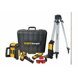 CST / Berger  2 beam Self Leveling Rotary Laser Kit  2000 ft. 9 pc.