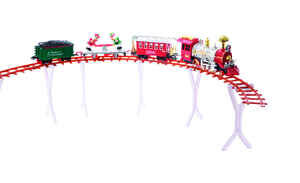 Decoris  Home for the Holidays  LED Christmas Train Set  Red/Green  1 pk Plastic