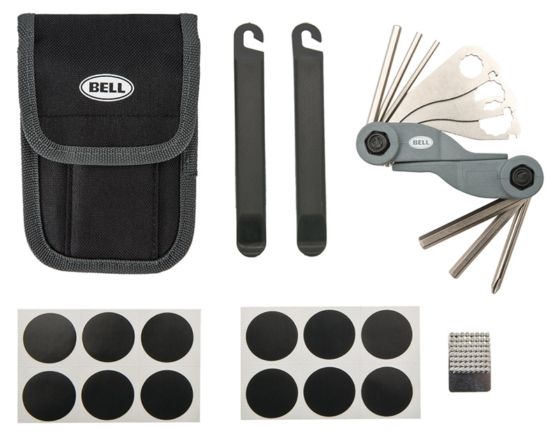 Bell Sports  Roadside 500  Steel  Bike Multi-Tool Kit  Silver/Black