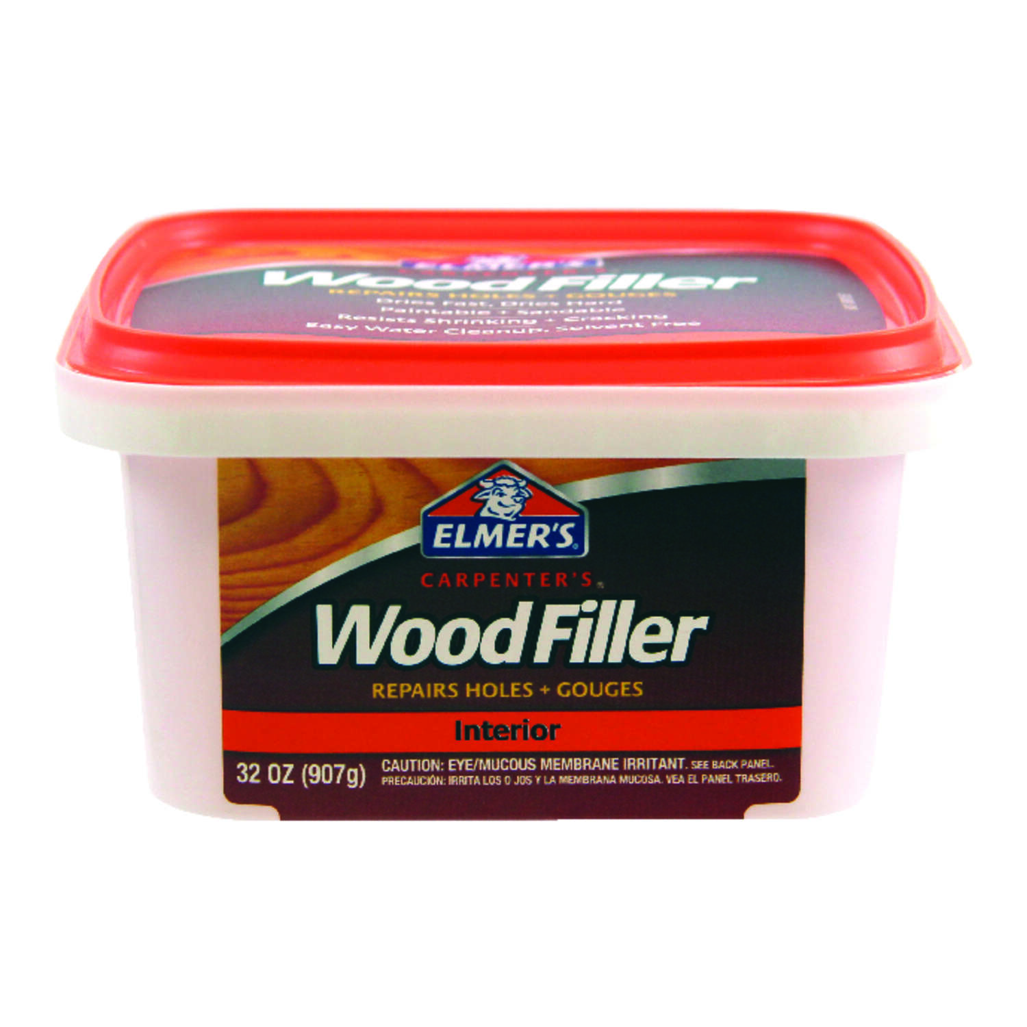 Elmer's Carpenter's Light Brown Wood Filler 32 oz.